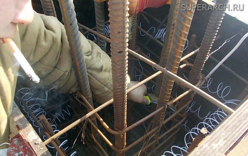 Прогрева бетона электродами цементный раствор при низкой температуре