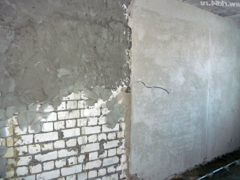 Штукатурка стен цементным раствором в квартире бетон м100 в москве