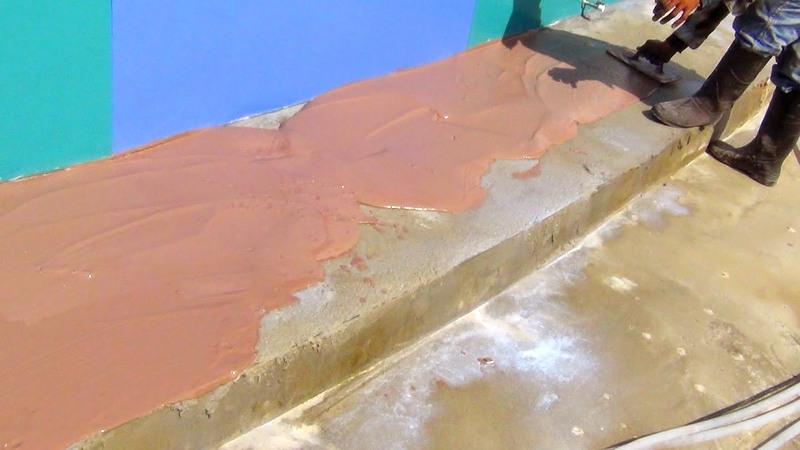 Краска колер для цементного раствора перелито бетон
