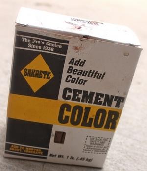 Купить колер для цементного раствора свежеуложенная бетонная смесь