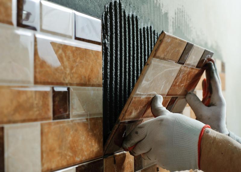 кафельная плитка на цементный раствор