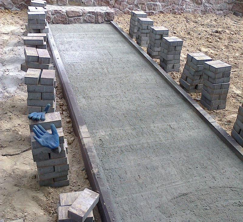 плитку на бетон