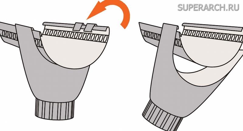 Крюки водосточной системы своими руками 32