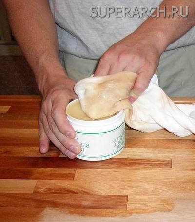 Масло воск для дерева