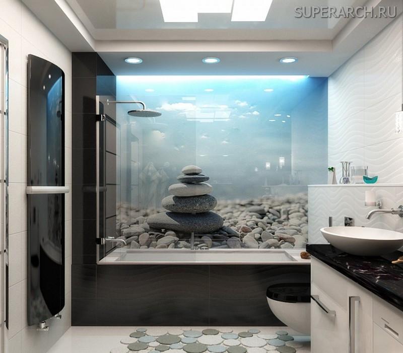 фотообои для ванной комнаты фото