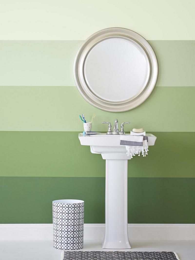 Покраска стен в ванной своими руками фото 660