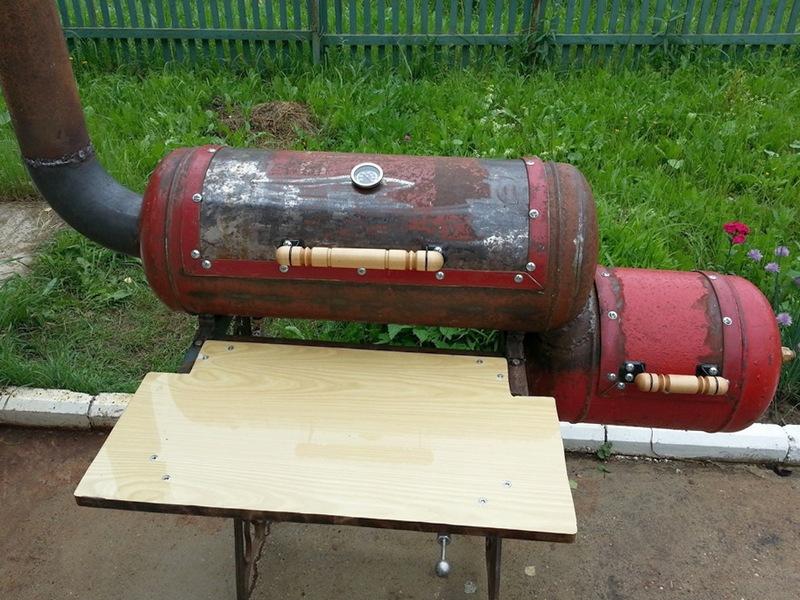 Как сделать коптильню из газового баллона своими руками фото 53