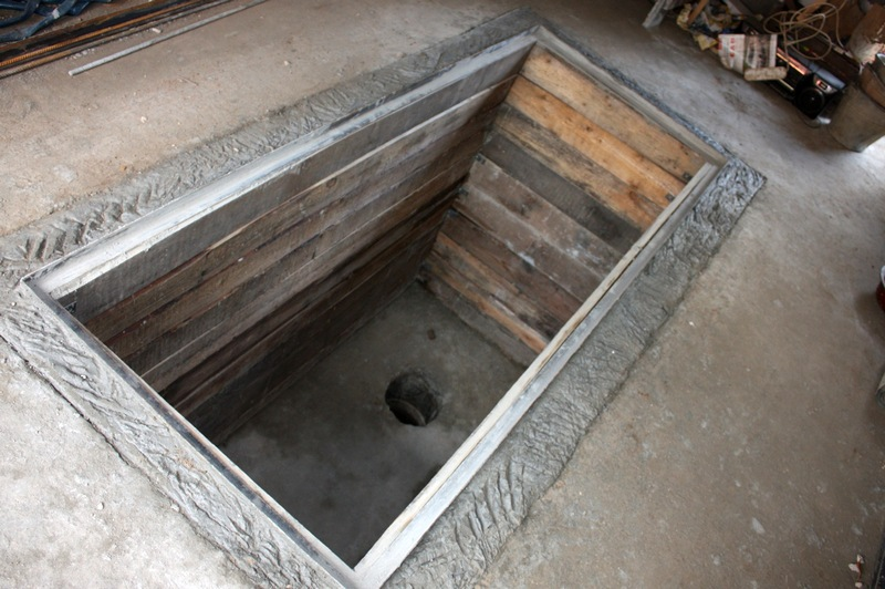 Как сделать бетонную яму в гараже