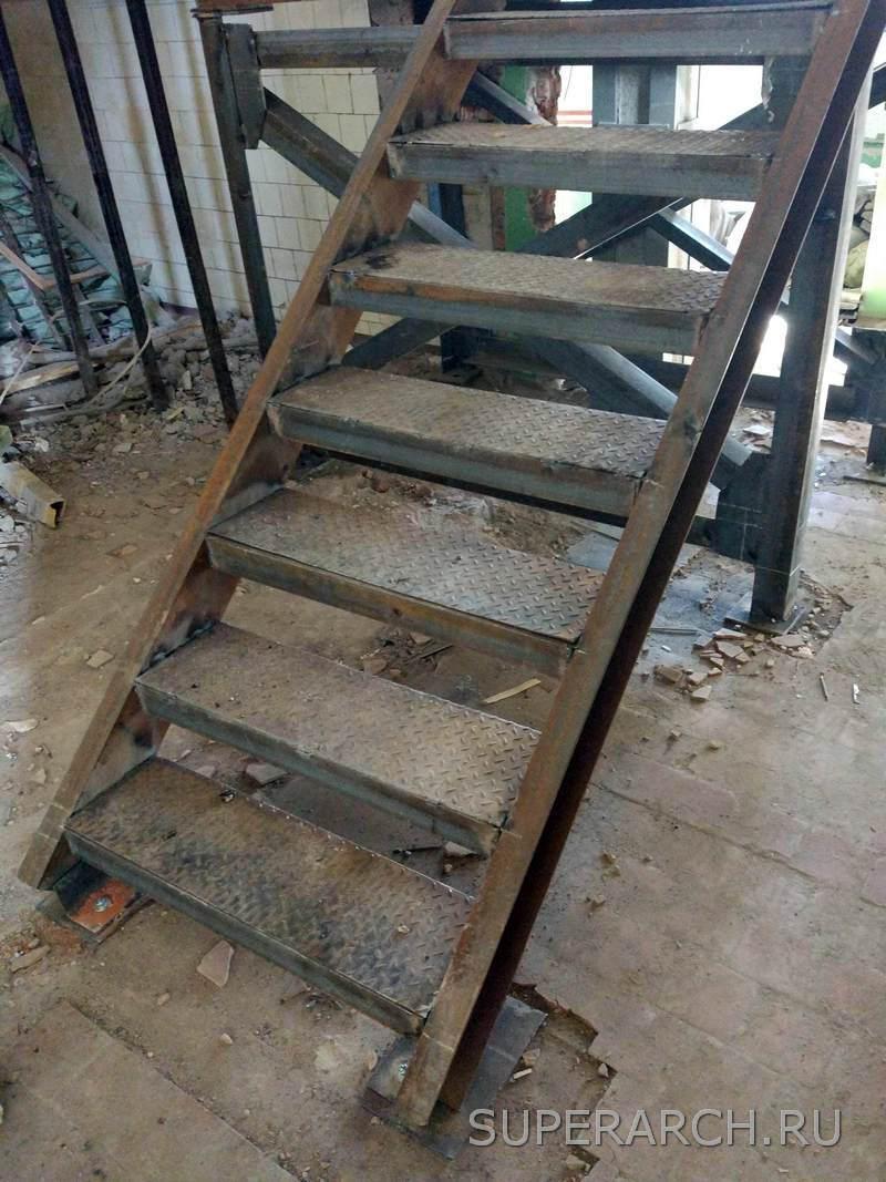 Лестница на второй этаж наружная своими руками фото 436